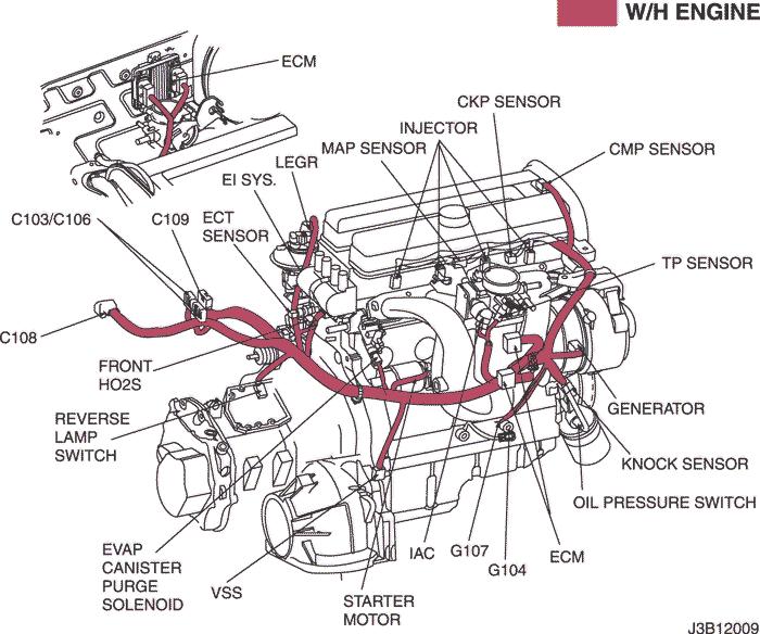 Electrical Wiring Diagram 2006 Nubira Lacetti 3 Ecm Engine Control Module Hv 240