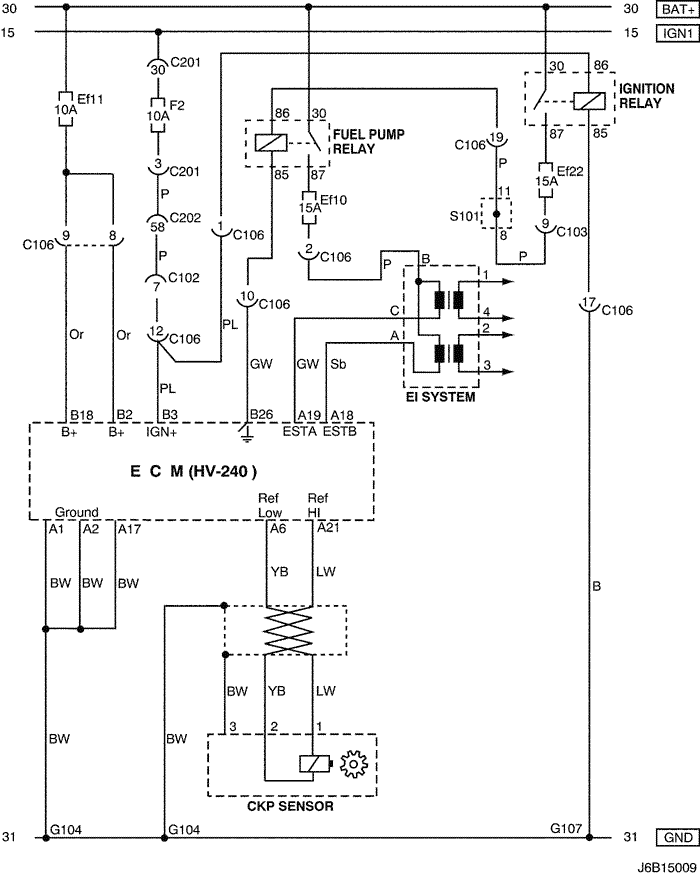 electrical wiring diagram 2006 nubira-lacetti 3. ecm (engine ...  mylacetti.ru