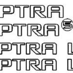 Эмблема OPTRA + эмблема CDX (часть 1 — заказ)