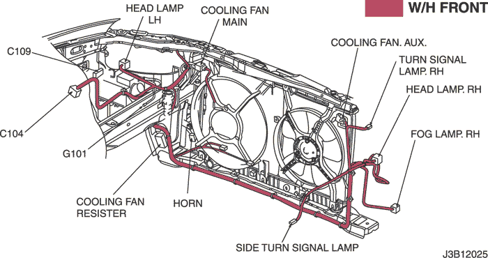 electrical wiring diagram 2006 nubira lacetti 9 radiator cooling2) cooling fan circuit (mr 140 hv 240) single