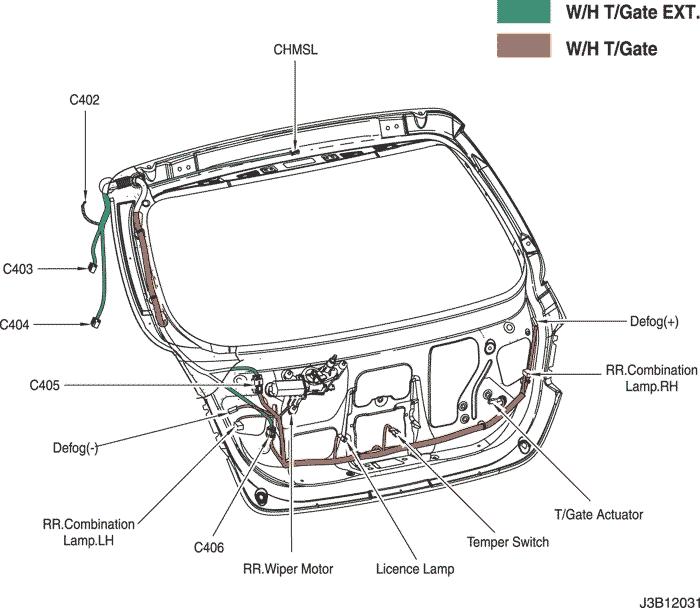 electrical wiring diagram 2006 nubira