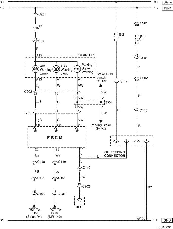 electrical wiring diagram 2006 nubira lacetti 28 abs antilock rh mylacetti ru