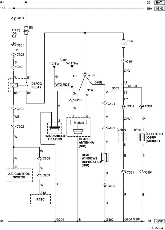 Electrical wiring diagram 2006 nubira lacetti 21 frontrear window j6b15054g ccuart Images
