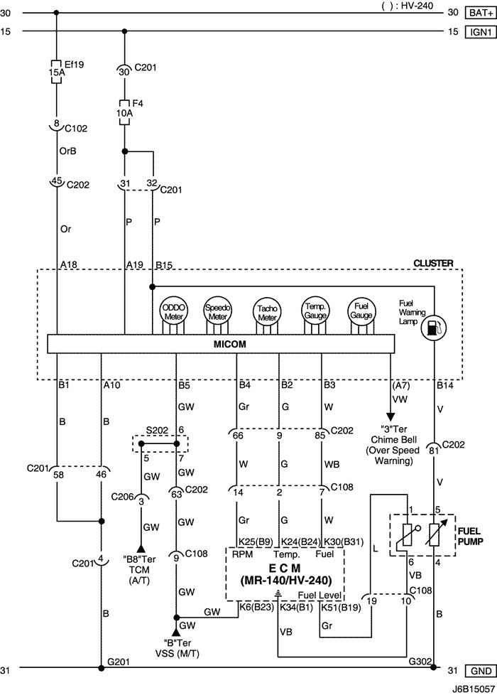 electrical wiring diagram 2006 nubira lacetti 26 cluster rh mylacetti ru Wiring Schematics for Cars Chevy Wiring Schematics