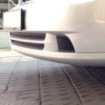 Защита радиатора сетка в бампер двойная Chevrolet Lacetti